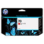 HP 70 Red Ink Cartridge ,Model C9456A ,Page Yield 2200