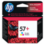 HP 57 Cyan / Magenta / Yellow Inkjet Cartridge, Model CB278AN