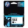 HP 564 Black Ink Cartridge ,Model CB316WN ,Page Yield 250