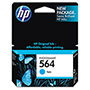 HP 564 Cyan Ink Cartridge ,Model CB318WN ,Page Yield 1860
