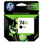 HP 74XL Black Ink Cartridge ,Model CB336WN ,Page Yield 860