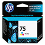 HP 75 Cyan/Magenta/Yellow Ink Cartridge ,Model CB337WN ,Page Yield 1000