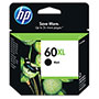 HP 60XL Black Ink Cartridge ,Model CC641WN ,Page Yield 600