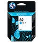 HP 82 Cyan Ink Cartridge ,Model CH566A ,Page Yield 5000
