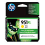 HP Ink Cartridge, 1500 Page Yield, Yellow