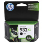 HP CN053AN140 (932XL) High-Yield Ink 1000 Page-Yield, Black
