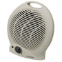 Holmes Compact Electric Fan-Forced Heater, Off-White, 1500W, 9 1/8 x 5 5/8 x 10 5/8