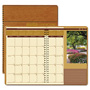 House Of Doolittle Recycled Landscapes Full-Color Monthly Planner, Ruled, 8 1/2 x 11, Brown, 2017