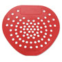 Hospeco Urinal Screen, Red, Cherry, 144 per Carton