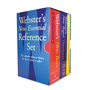 Webster's® New Essential Reference 3-Book Desk Set, Paperback
