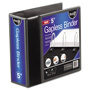 "Ideastream Gapless 5"" View Binder, Black"