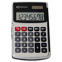 Innovera 15920 Silver Handheld Calculator with Hard Flip Case, 8 Digit, Dual Power