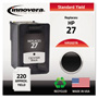 Innovera Remanufactured C8727AN (27) Ink, Black