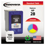 Innovera Replacement Ink Jet Cartridge, Tri Color