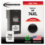 Innovera Remanufactured CB336WN (74XL) High-Yield Ink, Black