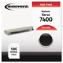 Innovera 7400B Compatible High-Yield Toner, 18,000 Page Yield, Black