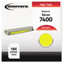 Innovera 7400Y Compatible High-Yield Toner, 18,000 Page Yield, Yellow
