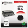 Innovera Black High-Yield Print Cartridge for Lexmark E320, E322