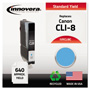Innovera Remanufactured 0621B002 (CLI-8) Ink, Cyan