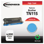 Innovera Remanufactured TN115C High-Yield Toner, Cyan