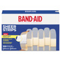 Band Aid Sheer Adhesive Bandages, 3/4 x 3, 100 per Box