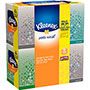 Kleenex Facial Tissue, Anti-Viral, Upright, 3-Ply, 68SH/BX, White