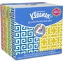Kleenex Facial Tissue Pocket Packs, 3-Ply, White, 10 Sheets/Pack 8 Packs