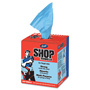 Scott® Shop Towels, Blue, Double Recrepe, 10 x 13, 200/Box, 8 Boxes/Carton