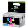 Lexmark Ink Cartridge Combo, 200 Page Yield, CYN/MA/YW
