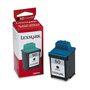 Lexmark Ink Cartridge for Color Jetprinter Z12, & Others, Waterproof, Black