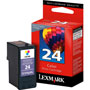 Lexmark No 24 Return Program Ink Cartridge For X3530, X3550, X4530, X4550, Color