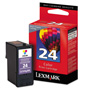 Lexmark 18C1624 Ink, 125 Page-Yield, Tri-Color