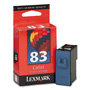 Lexmark Ink Cartridge for Color Jetprinters Z55, Z65 Series, X5150, & Others, Color