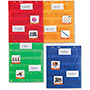 Learning Resources Magnetic Pocket Chart Squares, Set of 4, Multi
