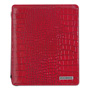 "Mead Cambridge® Deluxe iPad Case, Simulated Leather, 9-3/4"" x 4-3/10"" x 11-1/8"", Red"