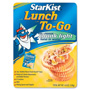Marjack Lunch To-Go Kit, w/ 3oz. Tuna/Crackers/Mayo/Spoon, 4.5 oz.