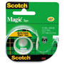 "Scotch Magic Tape w/Refillable Dispenser, 1/2"" x 450"", Clear"