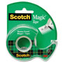 "Scotch Magic Tape w/Refillable Dispenser, 3/4"" x 300"", Clear"