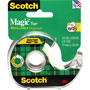 "Scotch Magic Tape w/Refillable Dispenser, 3/4"" x 650"", Clear"