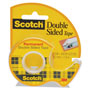 "3M 665 Double Sided Tape in Hand Dispenser, 1/2"" x 450"", 1"" Core"
