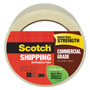 "Scotch Recycled Commercial Packing Tape, 2""x49.2 Yd, Clear"