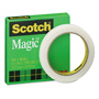 "Scotch Magic Office Tape, 1/2"" x 72 yards, 3"" Core, Clear"