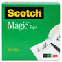 "Scotch Magic Tape Refill, 3/4"" x 1000"", 1"" Core, Clear"