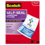 Scotch Self-Sealing Laminating Pouches, 9.5 mil, 8 1/2 x 11, 25/Pack