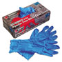 Memphis Glove Nitri-Med Disposable Nitrile Gloves, Blue, Extra Large