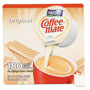 Coffee-Mate® Liquid Coffee Creamer, Original, 0.375 oz Mini-Cups, 180 per Box