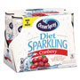 Ocean Spray Sparkling Cranberry Juice, Diet, 8.4 oz Can, 6/Pack