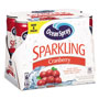 Ocean Spray Sparkling Cranberry Juice, 8.4 oz Can, 6/Pack