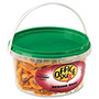 Office Snax All Tyme Favorite Nuts, Sesame Snax Mix, 13 oz Tub