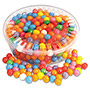 Office Snax Gumballs, Assorted, 18 oz